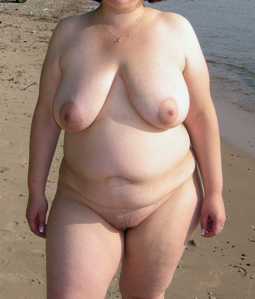 Fat granny nude beach right!